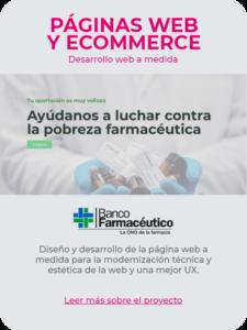 Web Banco Farmacéutico